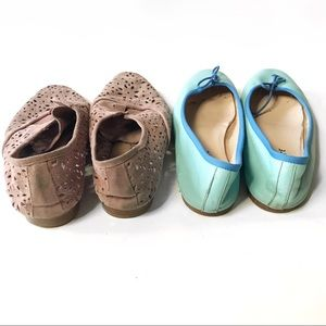 Shoes - Anthropology Laser Cut Oxford and Ballet Flats